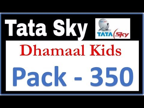 Tata Sky - Dhamaal Kids Pack - 350   Kids Pack - Tatasky Details in Hindi