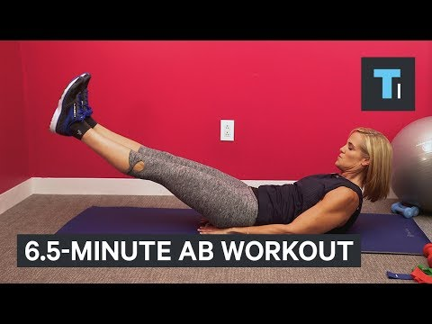 12-Time Olympic Medalist Dara Torres Reveals 6.5-Minute Ab Workout