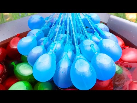 Do Color Combat Water Balloons Really Work? | Fab or Fail | Brooklyn and Bailey