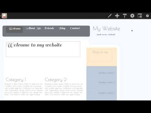 Update font style and size - Creating web page on an Android tablet
