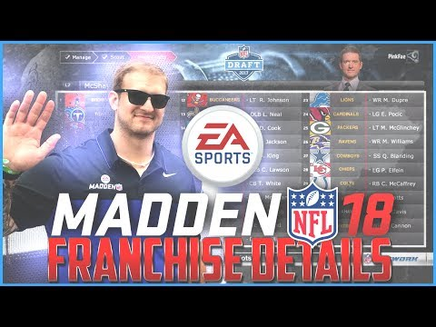 Madden 18 Franchise Details - Clint Oldenburg Answers Community Questions
