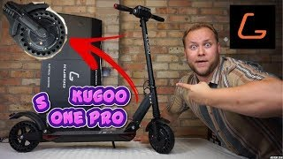 Kugoo S1 Pro Electric Scooter Unboxing Ride