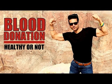 Benefits of BLOOD DONATION - Health & Fitness Tips by Guru Mann