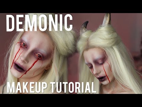 SUCCUBUS / DEMON Halloween Makeup Tutorial
