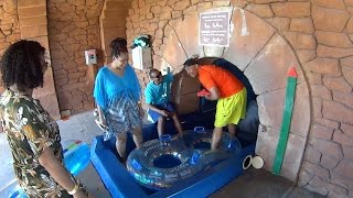 The Shark Tank Water Slide at Atlantis
