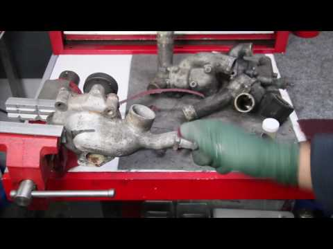 How to Clean Off and Seal Aluminum Housings from Engine Coolant Corrosion