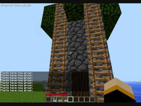 Minecraft | How to grow a sapling taller
