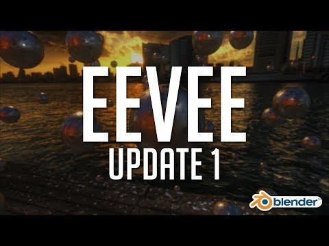 Blender's Eevee - Update 1