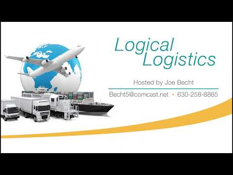 Logical Logistics Episode 2:  Shipping & Logistics is the Lifeblood of Business