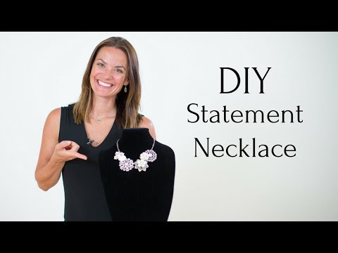 Statement Necklace Tutorial | DIY Wedding Necklace | Easy, Affordable, and Elegant