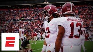 Jalen Hurts or Tua Tagovailoa: Who will be Alabama football