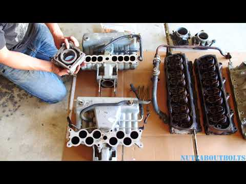 Junkyard Special Mustang 5.0 fox body Explorer GT40 upgrades (cylinder heads and intake manifold)