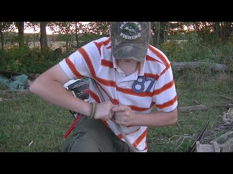 Survivin'- How To Start A Fire With Only Wood And String