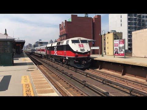 Metro-North Railroad HD 60fps: GE P32AC-DM Dual-Mode & Diesel Trains @ Harlem-125th Street (5/29/18)