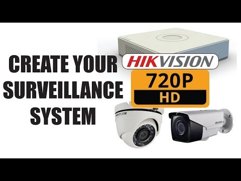 Create and configure your own surveillance system with Hikvision | English Version 2017