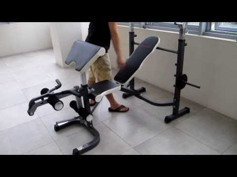 HomeGym.sg - Multi purpose barbell bench