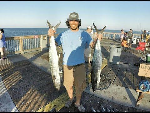 Going Saltwater - King Mackerel Pier Fishing