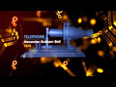 Alexander Graham Bell's Telephone Prototype   The Genius Of Invention   Earth Lab