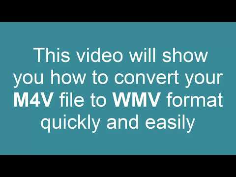 How to Convert M4V to WMV