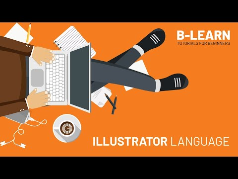 Change the language of illustrator