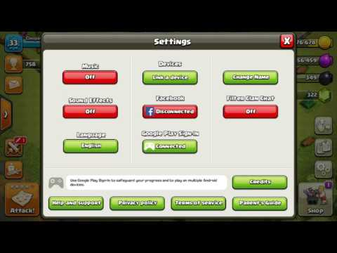 How to transfer COC Gmail