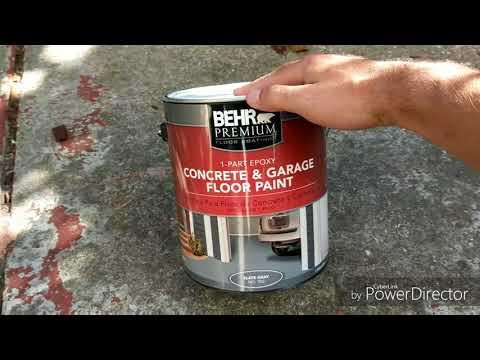 DIY Villa Episode 1: Concrete Patio Painting