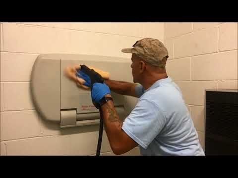 Public Rest Room Steam Cleaning