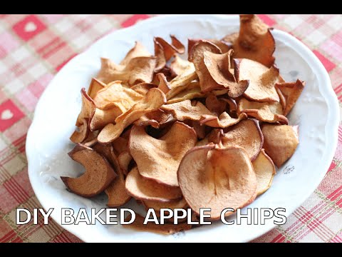 DIY Baked Apple Chips