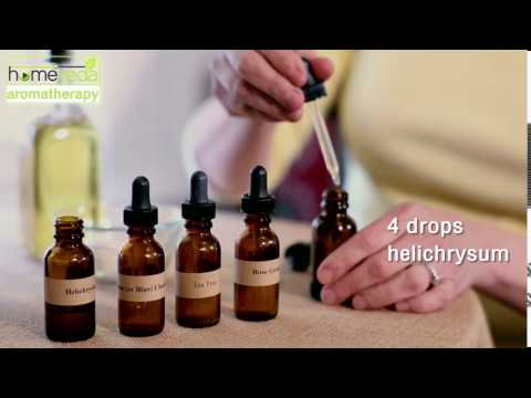 Treat Acne With Essential Oils|Very Effective| Easy Recipe - Homeveda Aromatherapy