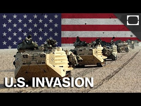 Which Countries Has The U.S. Invaded?