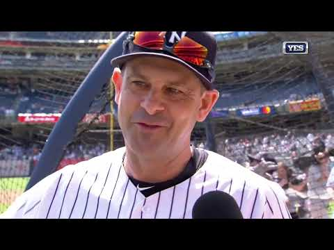 Xxx Mp4 Aaron Boone Goes Yard In BP On Old Timers 39 Day 3gp Sex