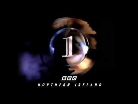 1991 BBC 1 Northern Ireland Globe