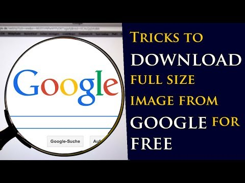 Tricks to download google restricted images for free | Secret revealed for the first time.