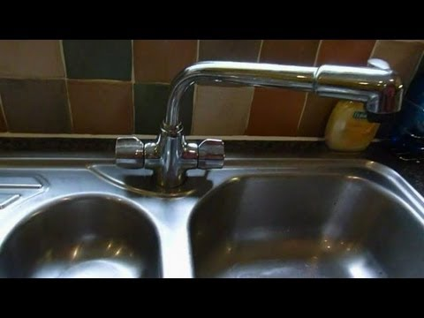 How to change mixer taps.(monoblock mixers) .Kitchen taps shown, but same for basin or bath
