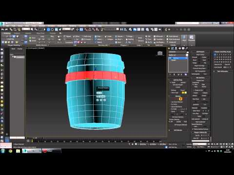 Quick Start To 3ds Max - How To Make A Barrel