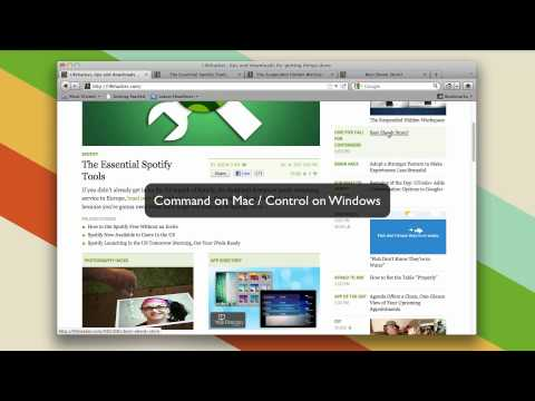 How to Quickly Open Tabs in the Background in Your Web Browser