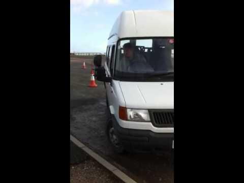 D1 minibus reversing exercise