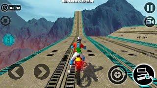 Impossible Motor Bike Tracks New Motor Bike Unlocked Android Gameplay 2017