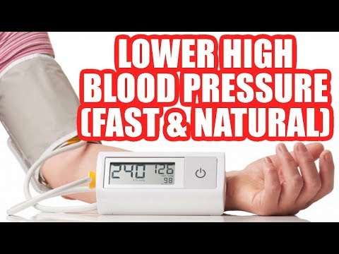 How to Lower High Blood Pressure Naturally With No Medication Fast Home Remedies