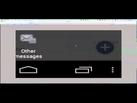 How To get to Other Messages using the Android Facebook Application