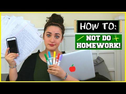 HOMEWORK HELP! How to avoid homework distractions #BacktoSchool