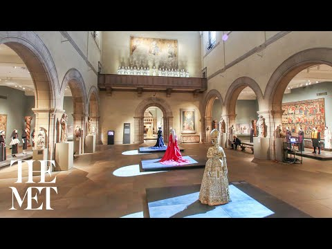 Heavenly Bodies: Fashion and the Catholic Imagination Installation Time-Lapse