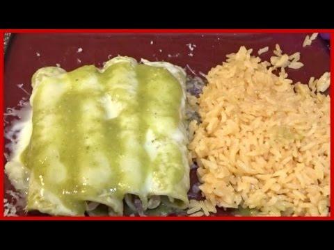 How To Make Green Enchiladas | Recipe
