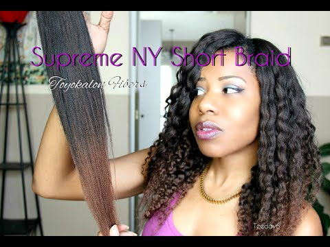 UPDATE: Toyokalon NY Short Braid +CURLS! | TEEDAY6