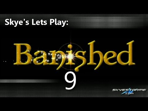 Banished LP #9 - Cattle and Sheep (108 Pop) Skye's Lets Play Banished
