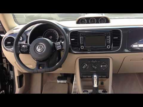 2013 Beetle Turbo with Beige interior