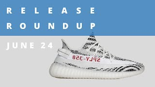Zebra adidas Yeezy Boost Returns and More   Release Roundup June 24th
