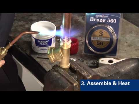 Joining Brass to Copper with Braze™