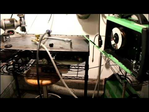 Everlast 211si mig welding setup