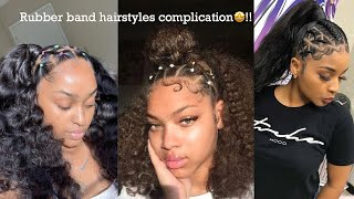 Super Easy Back To School Rubber Band Hairstyle Amore W